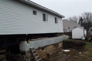 Soulever ou tayer un b timent remplacer une fondation info for Quelle fondation pour un garage